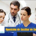 Oposición de Auxiliar de Enfermería