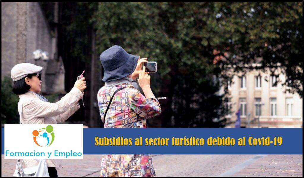 Subsidios al sector turístico
